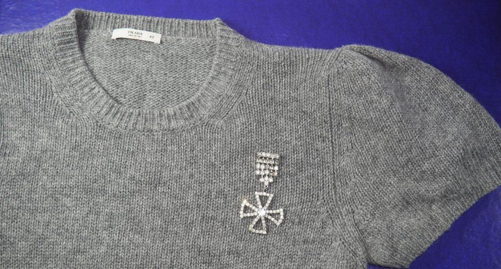 prada pullover secondhand