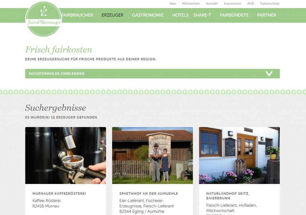 fairnESSkultur eine Plattform für fairen Genuss